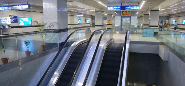 Inclined Escalator