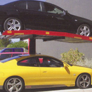 Single Pole- 2 Level Parks - 2 Level Parking System