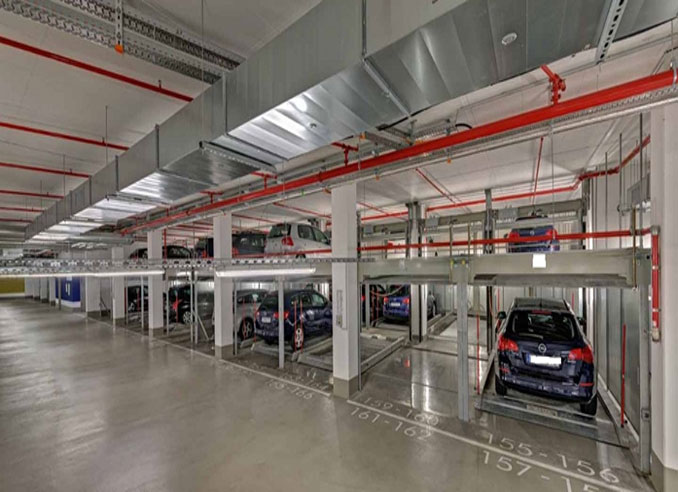 2 Level Car Parking System