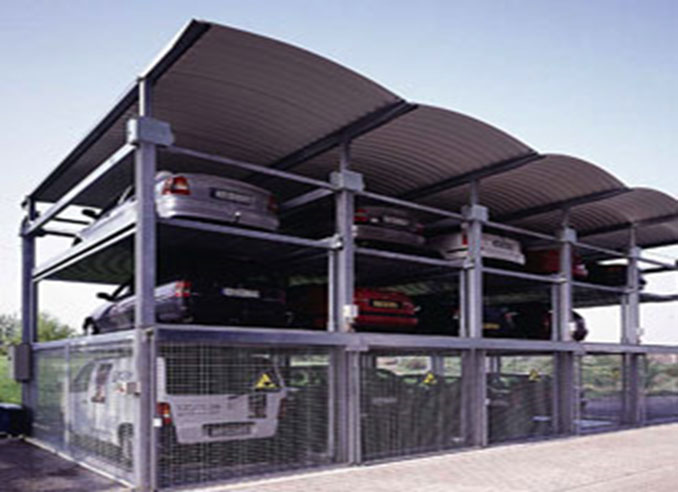 3 Level Car Parking System