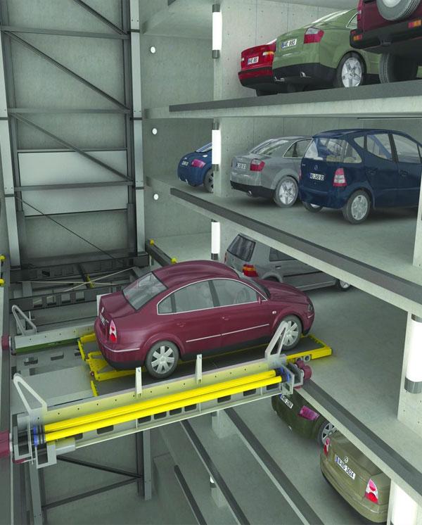 Robotics Car Parking Systems