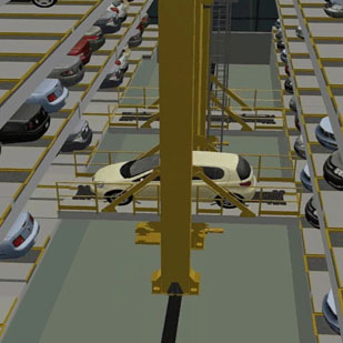 Stacker Crane Parking System